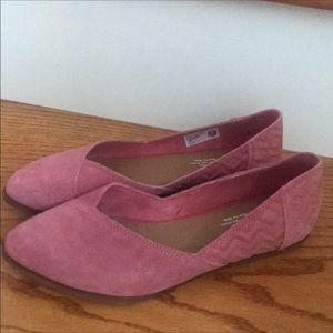 Toms Pink Flats